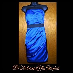 Beautiful Express Royal Blue Short Dress